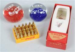 Lot of 4 CocaCola Items