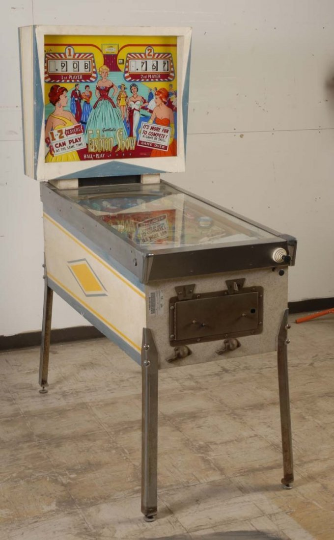 Gottlieb Fashion Show Pinball Machine