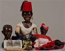 Lot Of Misc Black Americana Items
