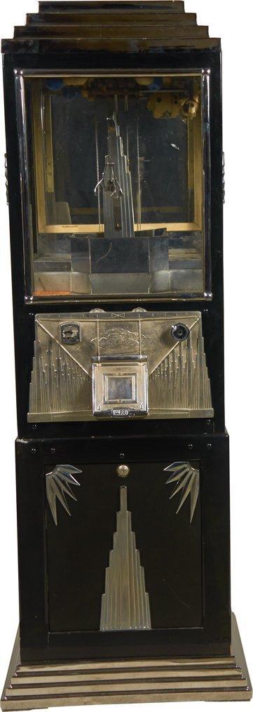 5 Cent Buckley Delux Crane Digger Arcade Machine.