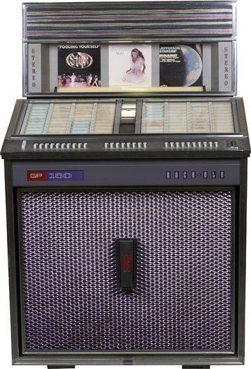 Coin-Op Rock-Ola GP160 Model 432 Phonograph Jukebox.