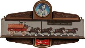 Budweiser Beer World's Champion Clydesdale Team.