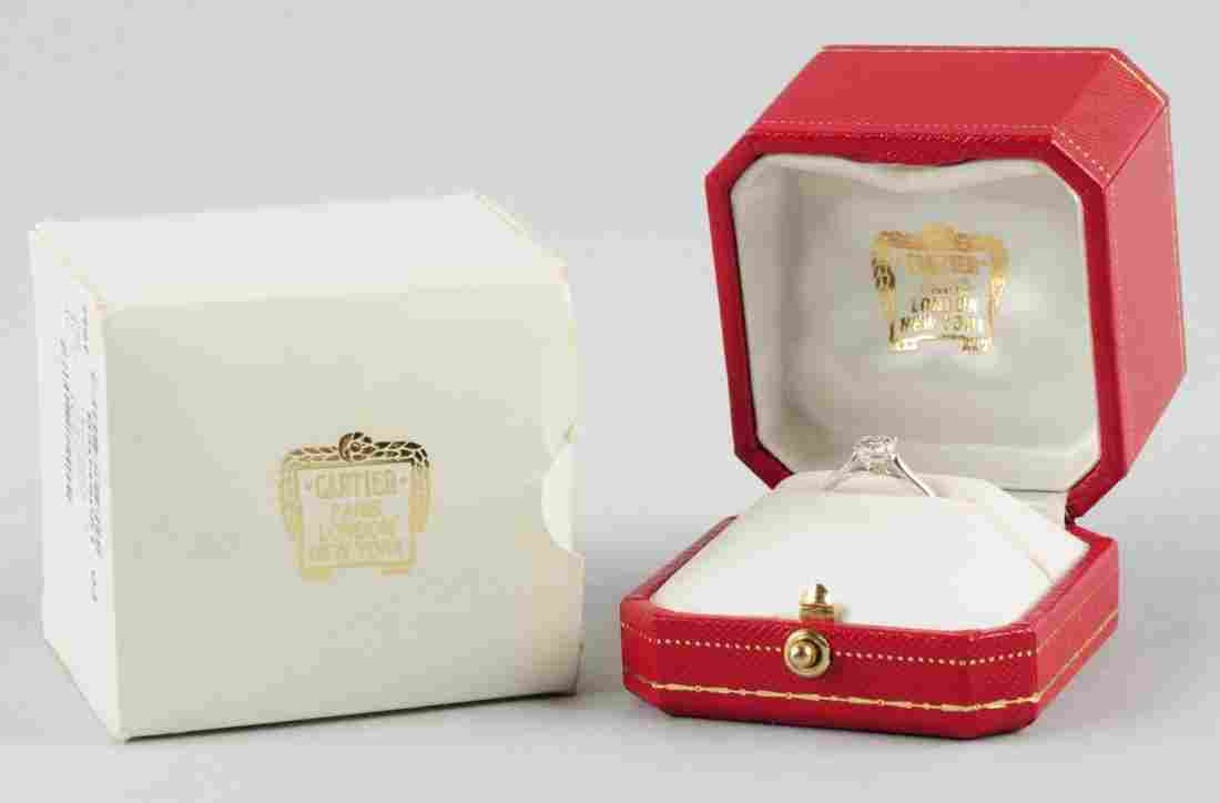 Cartier Diamond Engagement Ring.