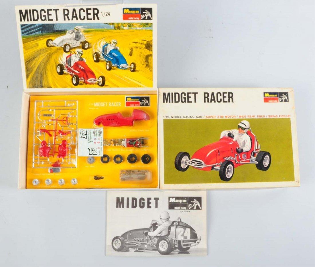 Monogram Midget Racer Car Kit.