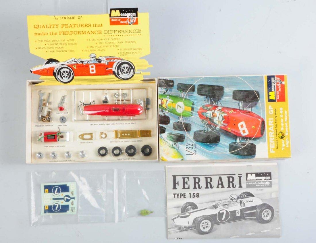 Monogram Ferrari GP Formula 1 Grand Prix Kit.