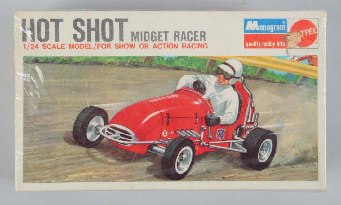 Monogram Hot Shot Midget Racer Car Kit.