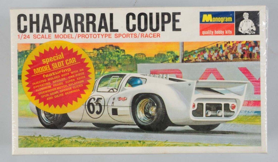 Monogram Chaparral Coupe Model Car Kit.