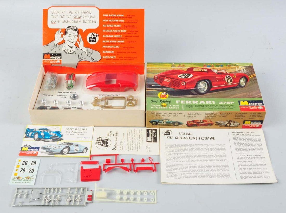 Monogram Ferrari 275P Model Kit.
