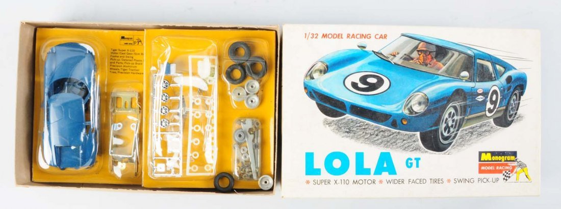 Monogram Lola GT Model Kit.