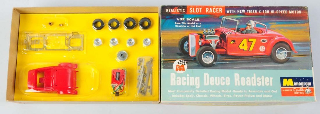 Monogram Racing Deuce Roadster Model Kit.