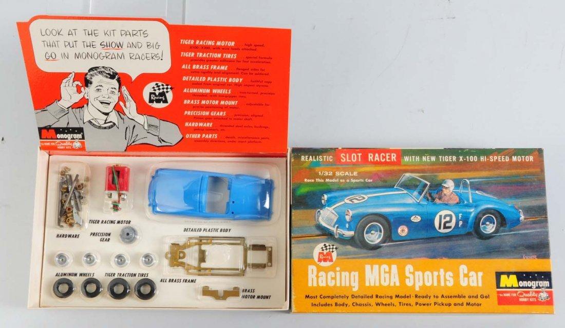 Monogram Racing MGA Sports Car Model Kit.