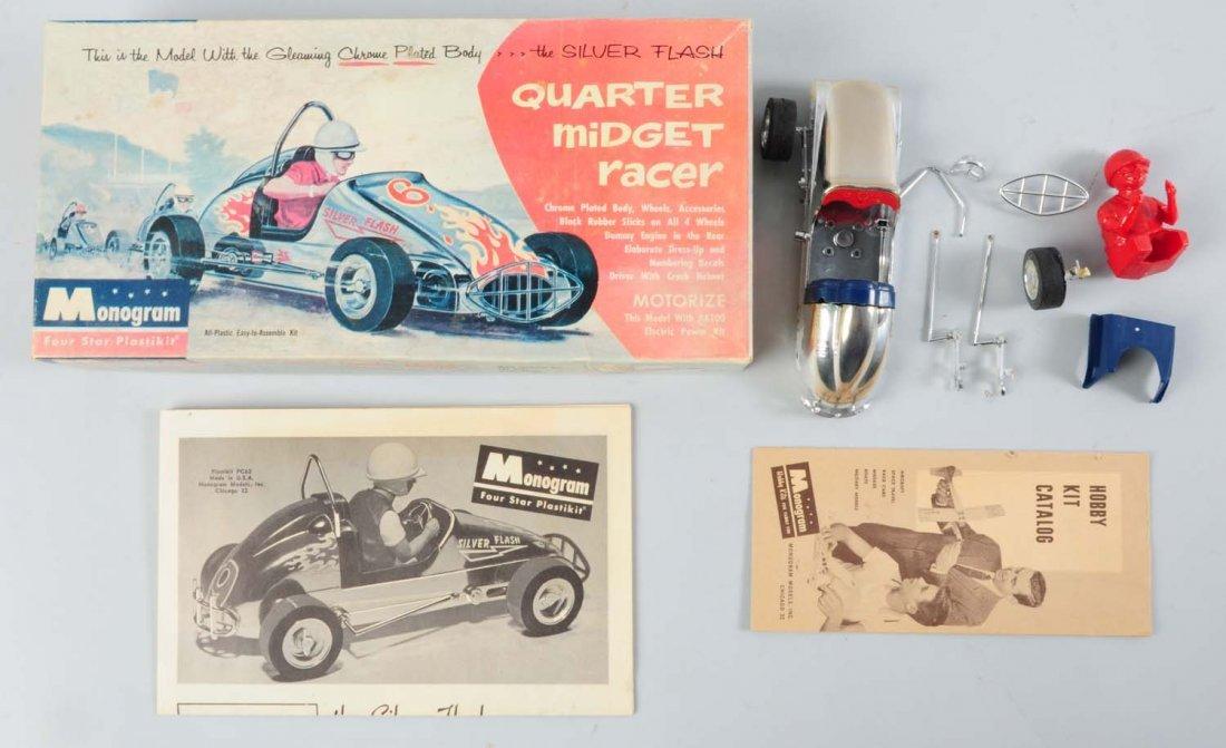 Monogram Quarter Midget Racer Car Kit.