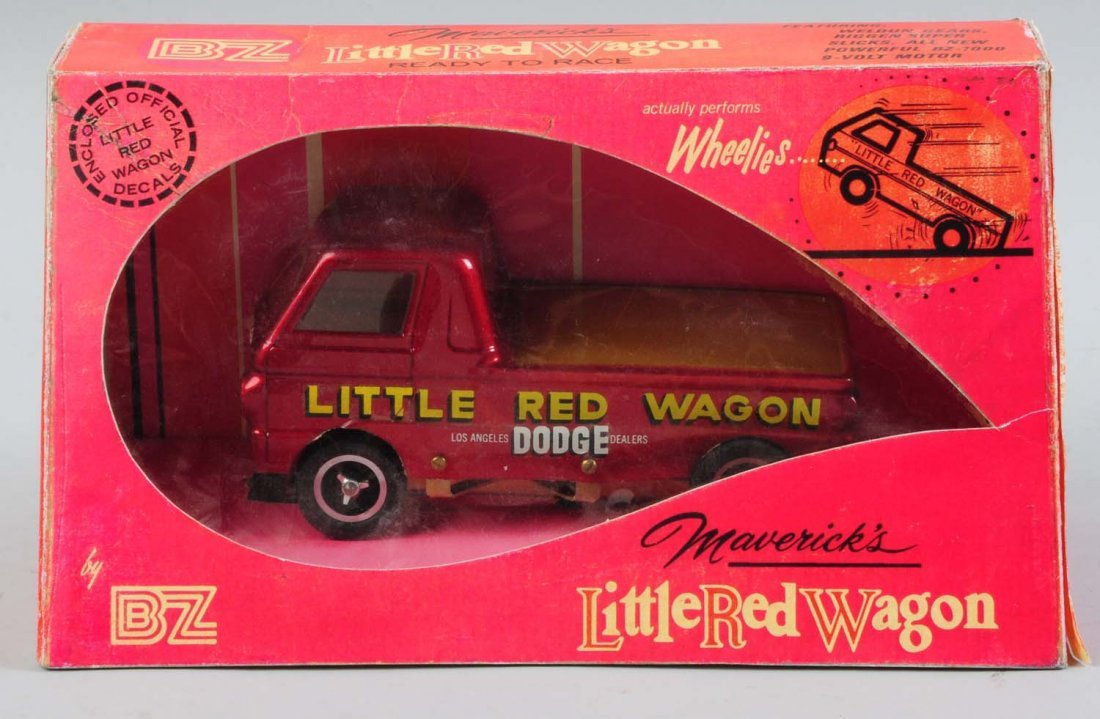 BZ Maverick's Little Red Wagon Model Racing Car.