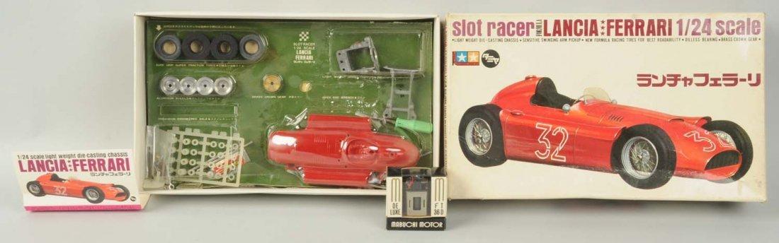 Tamiya Lancia Ferrari Slot Car Kit.