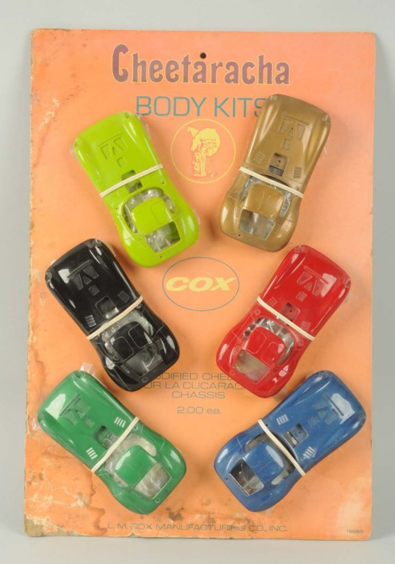 Cox Cheetaracha Slot Car Body Kits.