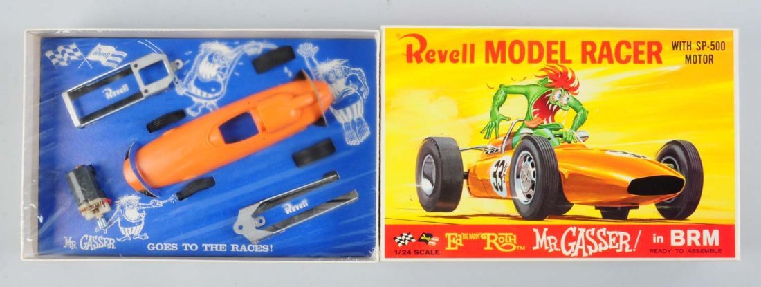 Revell BRM Rat Fink Mr. Gasser Slot Car Kit.