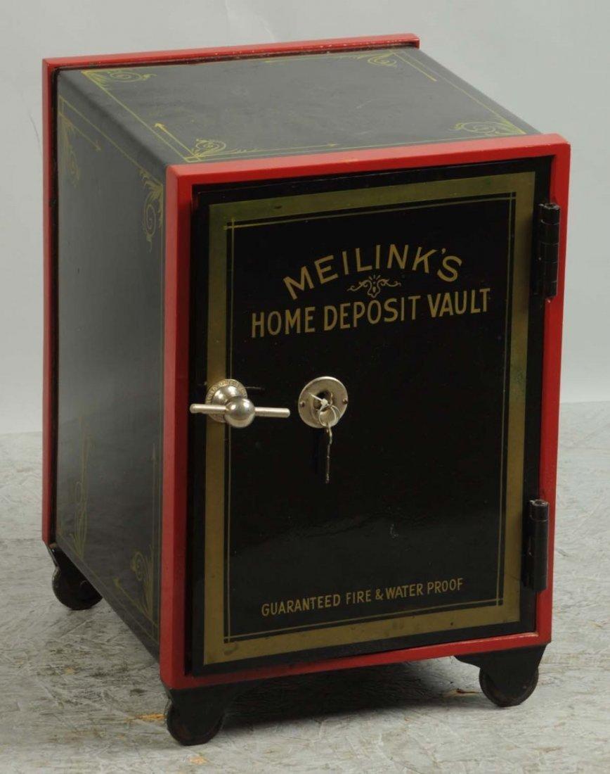 Meilink's Home Deposit Vault Safe.