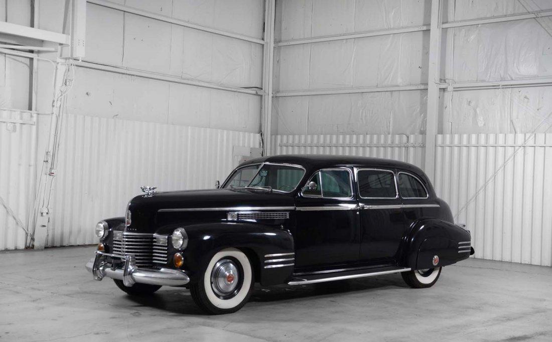 1941 Cadillac Series 75-19F Imperial Sedan.