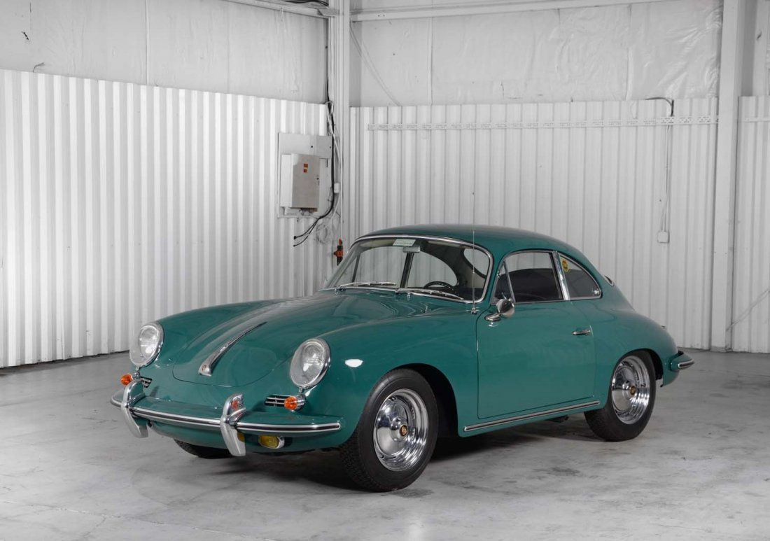 1963 Porsche 356B T-6.