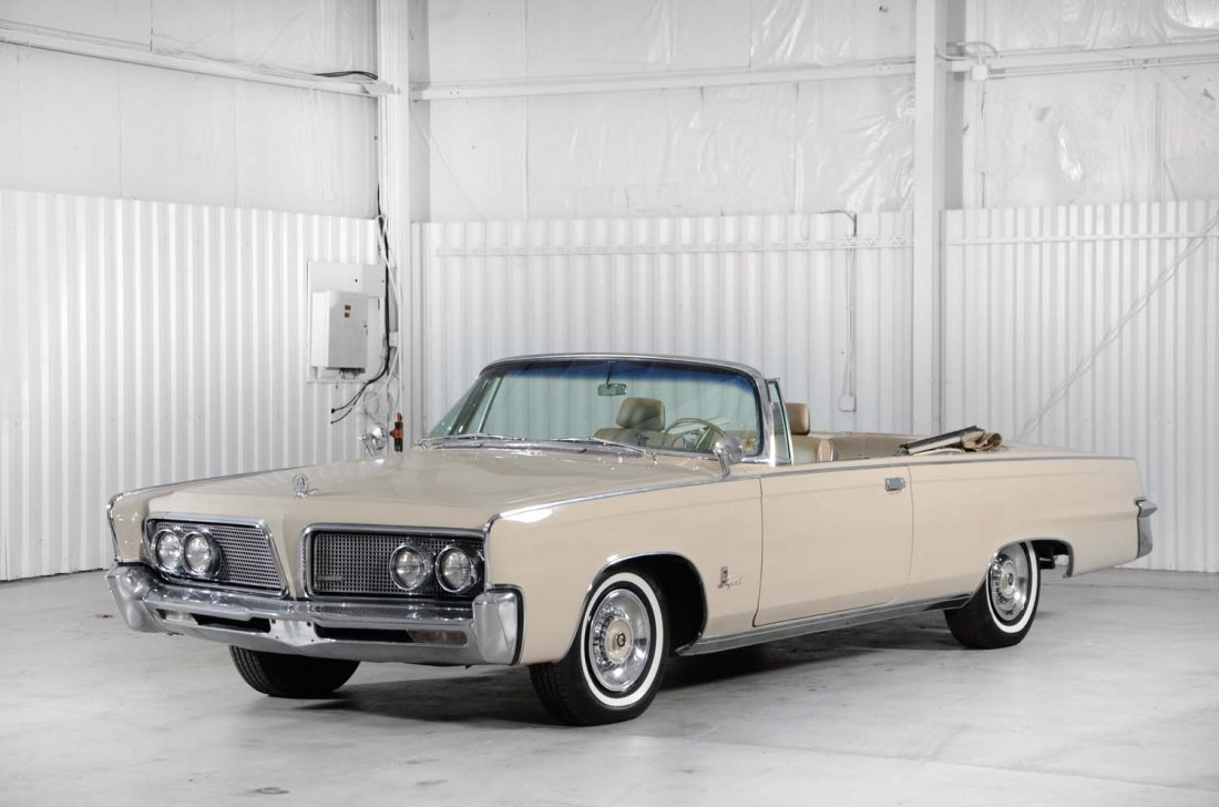 1964 Chrysler Imperial Convertible.
