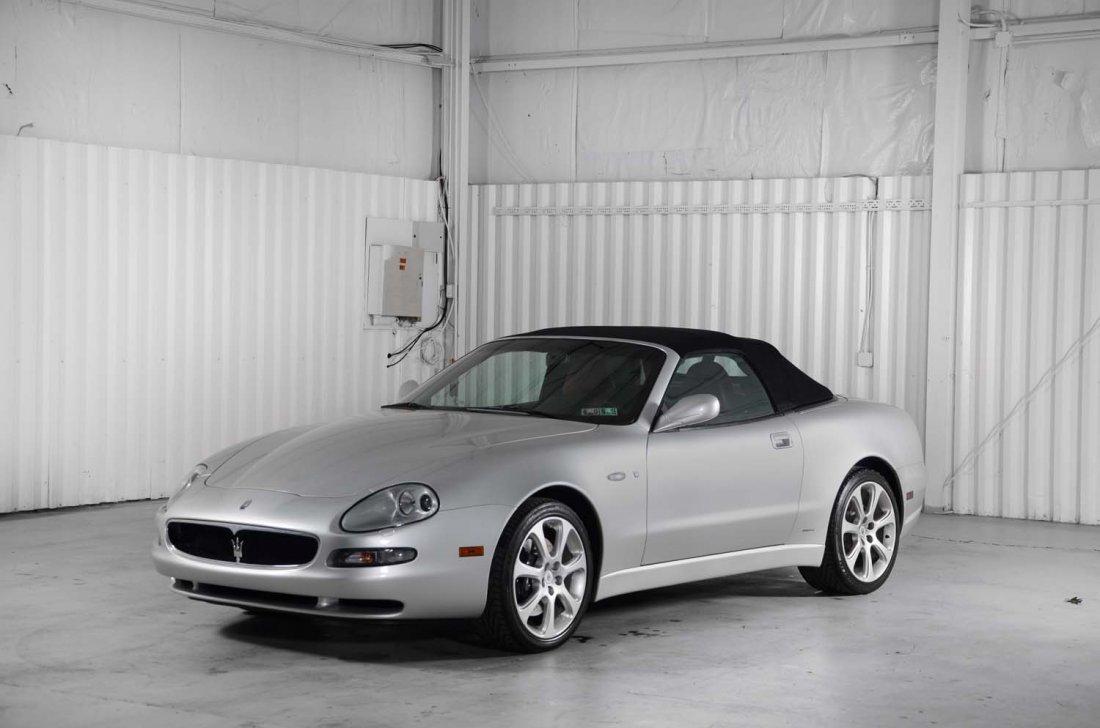 2003 Maserati Spyder GT.