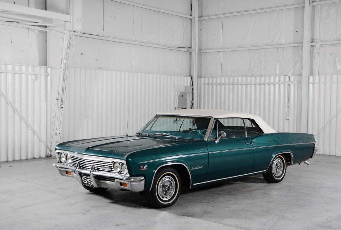 "1966 Chevrolet Impala SS ""Brass Hat"" Car."