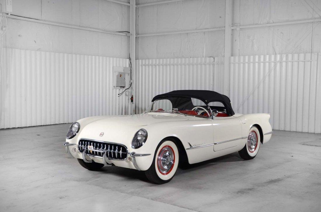1953 Chevrolet Corvette.