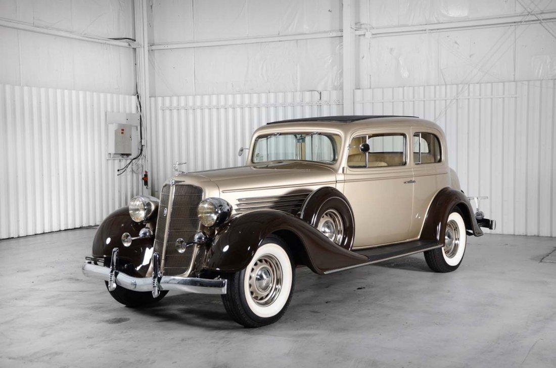 1934 Buick Series 60 Victoria Restomod.