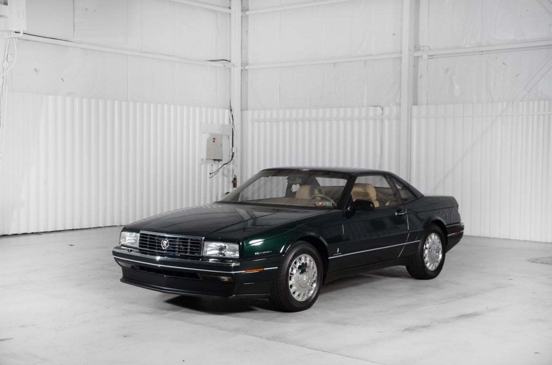 1993 Cadillac Allanté.