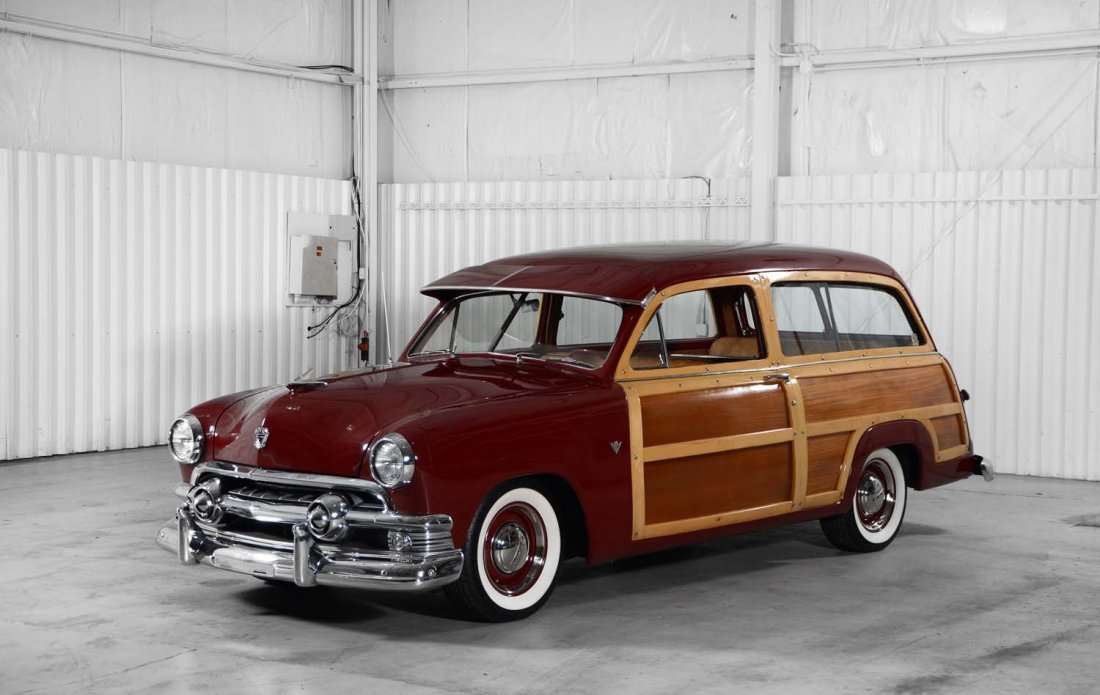 1951 Ford Country Squire Wagon Restomod.