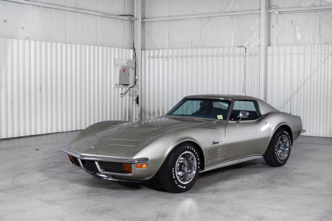 1972 Chevrolet Corvette.