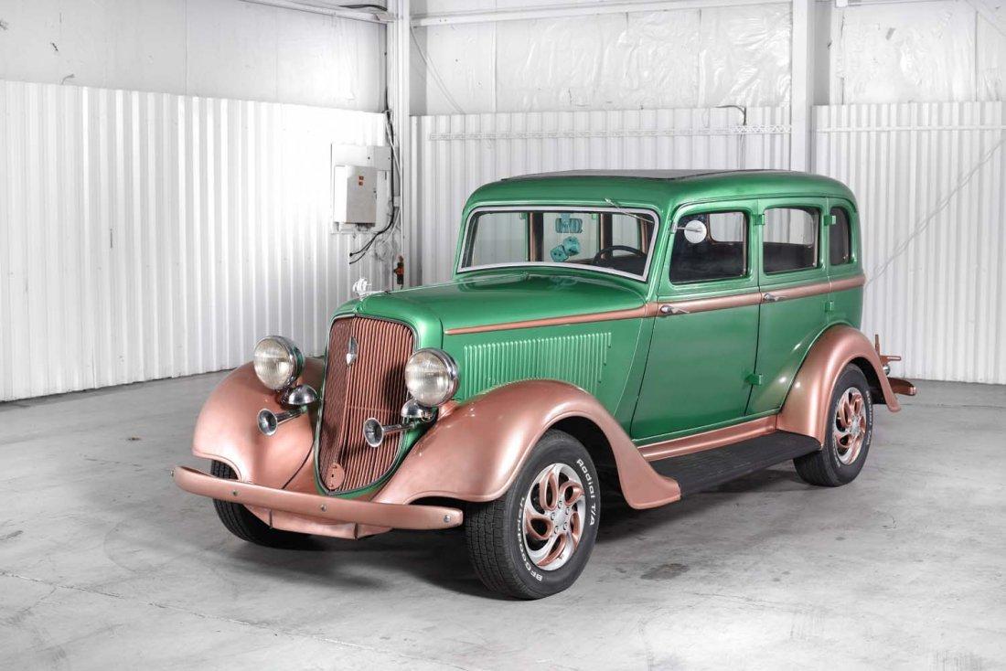 1934 Plymouth Sedan.