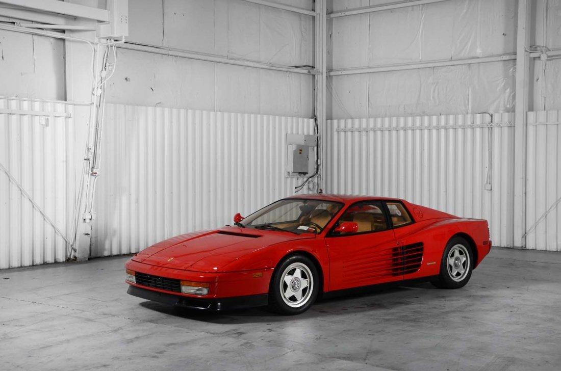 1987 Ferrari Testarossa.