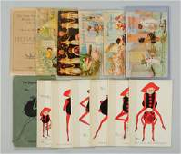 Lot of 14: Little Nemo and Brownies Postcards.