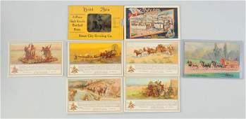 Lot of 8: Brewery Beer Advertising Postcards.