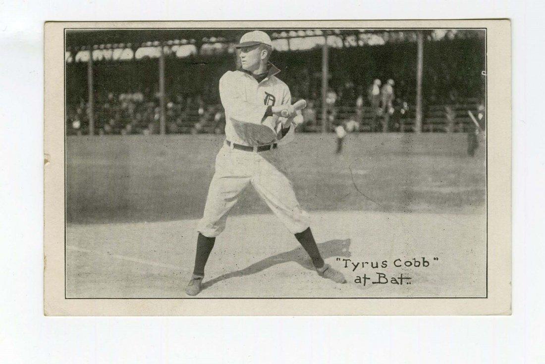 1908 Ty Cobb Baseball Postcard.