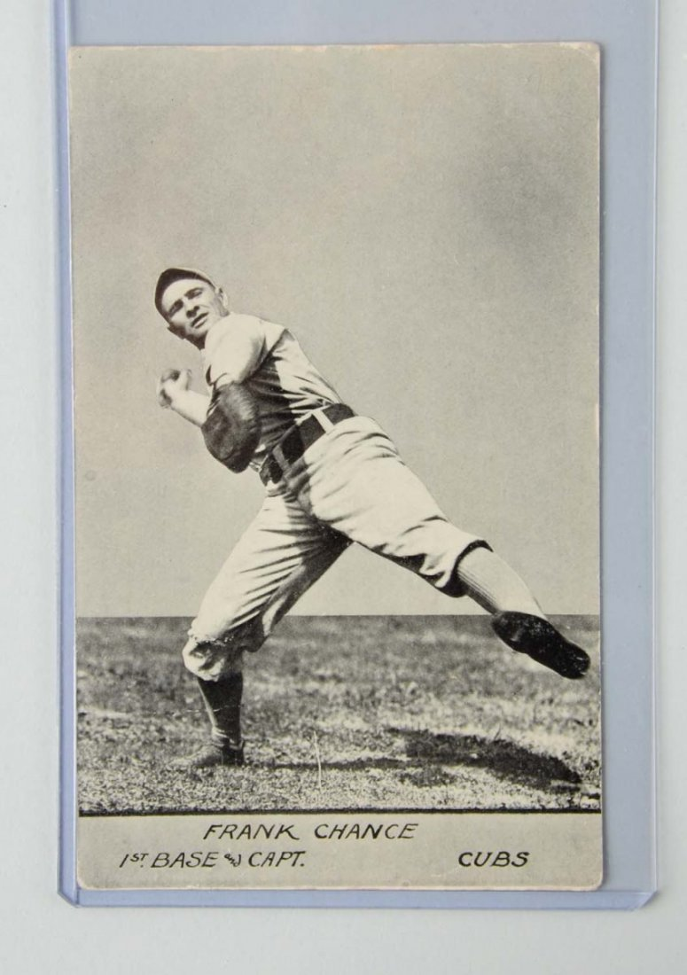 Frank Chance Baseball Postcard.