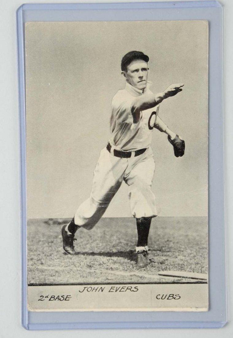 Jon Evers Baseball Postcard.