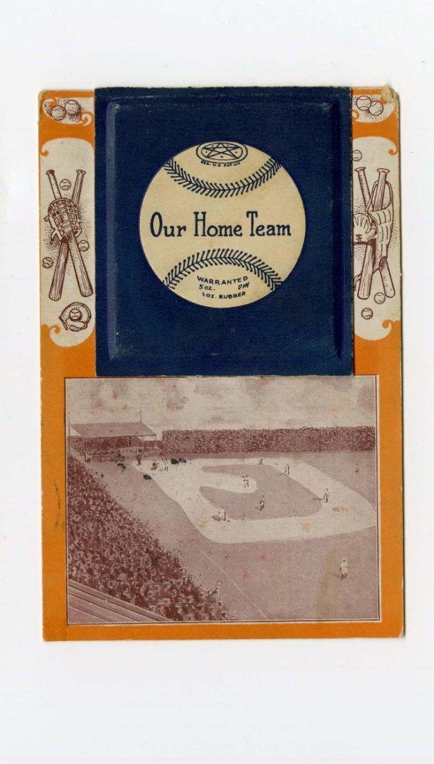 1908 Chicago White Sox Foldout Baseball Postcard.