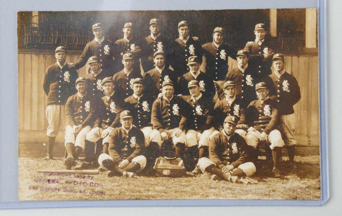 1908 St. Louis Cardinals Real Photo Postcard.