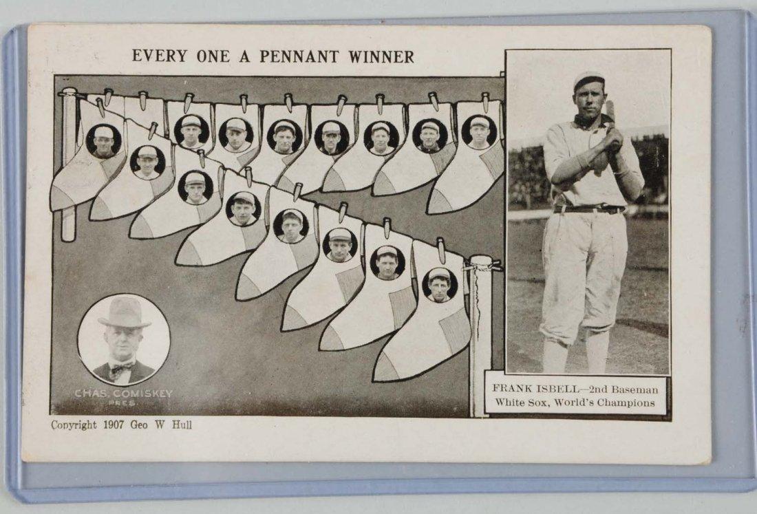 Frank Isbell Baseball Postcard.