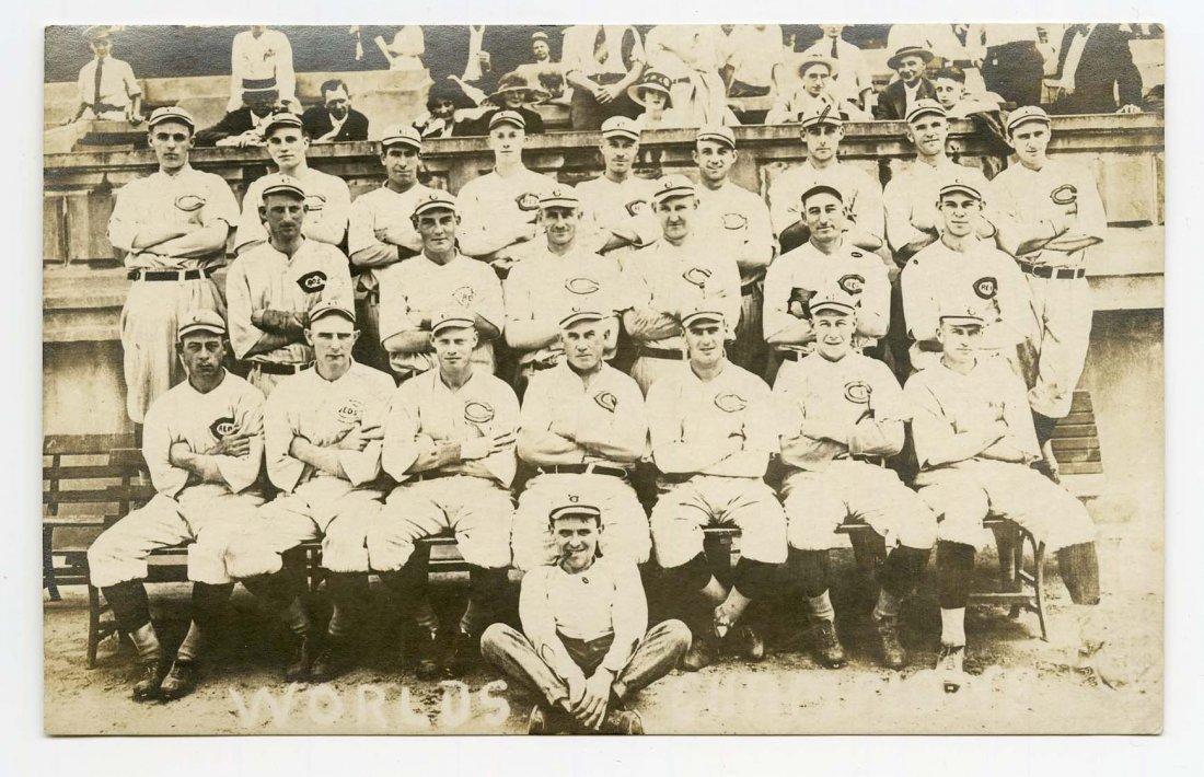 1919 Cincinnati Red Legs Baseball Photo Postcard.
