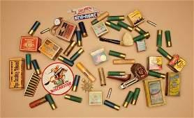 Vintage Firearms/Cartridge Box Lot.