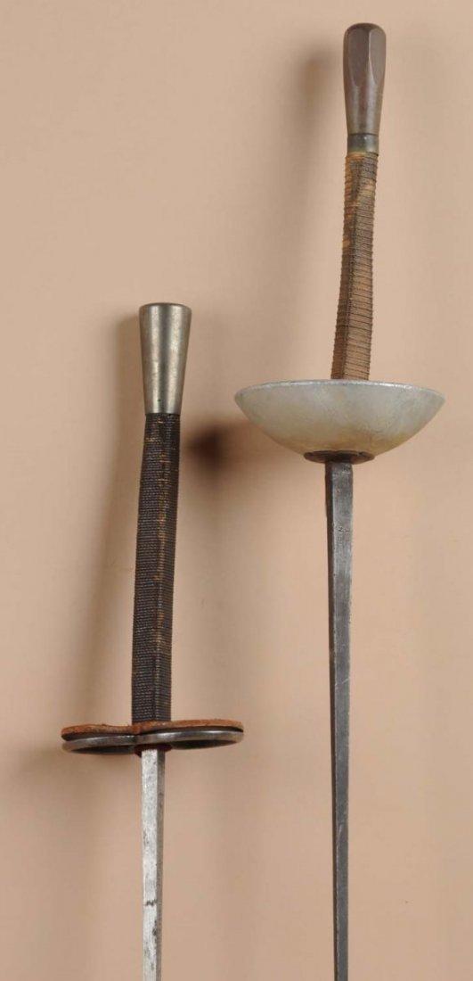 Lot of : Vintage Fencing Swords. - 2