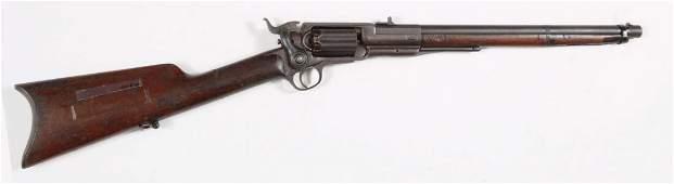 Confederate Colt Model 1855 Revolving Rifle.