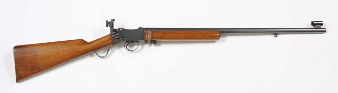 Fine W.W. Greener Martini Action .22 Rifle.**