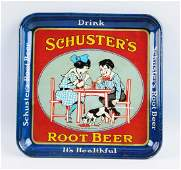 Schusters Root Beer Serving Tray