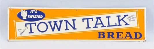 Town Talk Bread Tin Sign