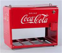 Salesman Sample Coca-Cola Cooler.