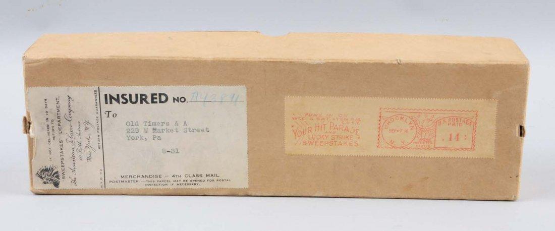 Full CArton of 1950s Lucky Strike Cigarettes. - 3